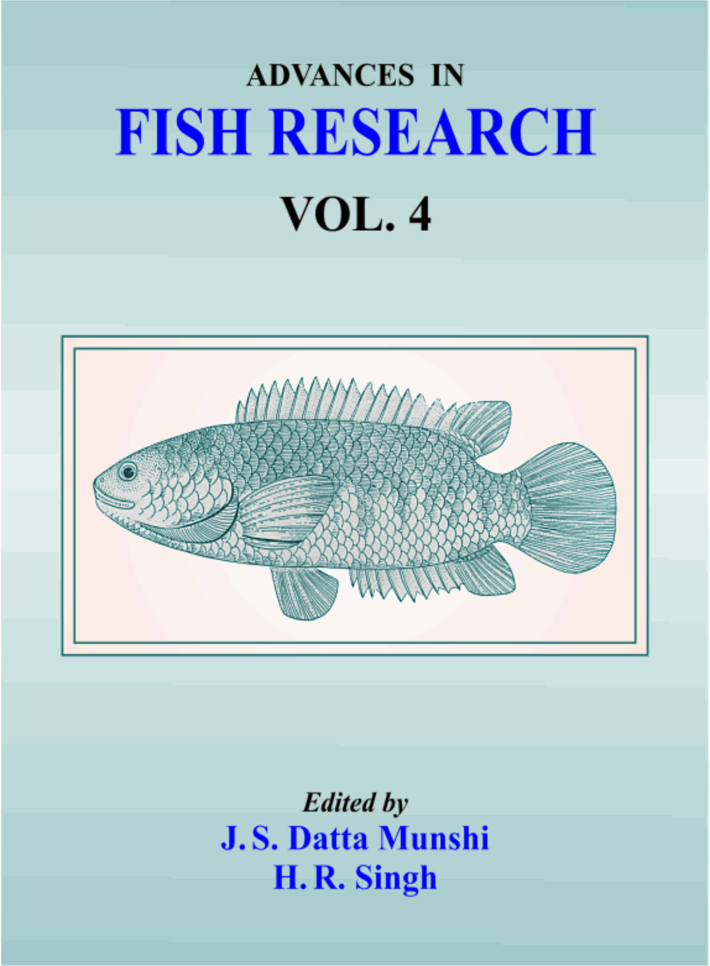 Advances in Fish Research Vol IV