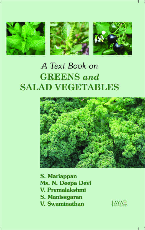 Text Book on Green & Salad Vegetables